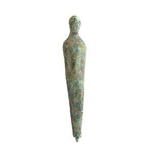 Piccolo Kouros etrusco in bronzo VI - V ...