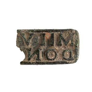 Sigillo in bronzo I - III secolo d.C. lungh. ...