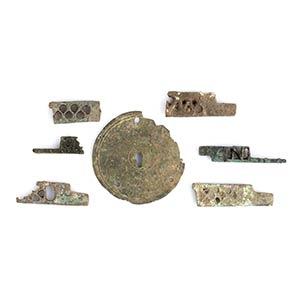Gruppo di sette serrature in bronzo I - III ...