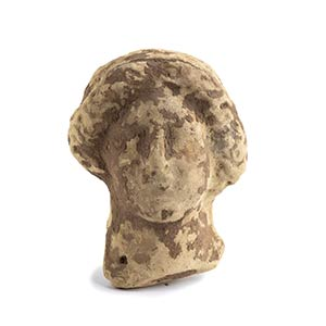 Testina femminile in terracotta IV - II ...