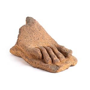 Piede votivo in terracotta IV - II secolo ...
