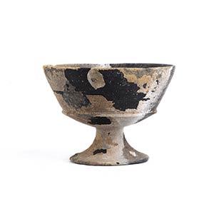 Calice etrusco in bucchero Fine del VII ...