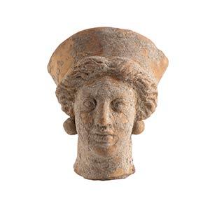 Ritratto femminile Magna Grecia, fine del V ...
