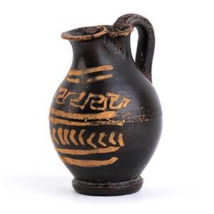 Chous apulo sovraddipinto Fine del IV secolo ...