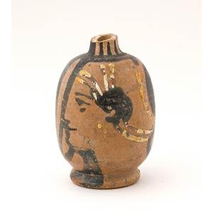 Lekythos apula miniaturistica a figure rosse ...
