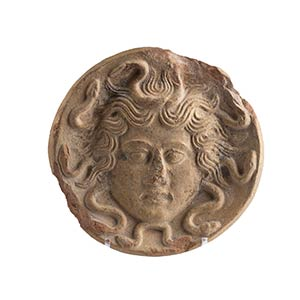 Antefissa con Gorgoneion Magna Grecia, IV - ...