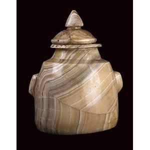 Preziosa urna di alabastro ...