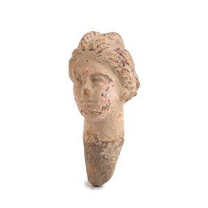 Testina femminile del tipo Tanagra III - II ...