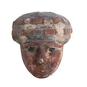 Grande maschera lignea di sarcofago Egitto, ...