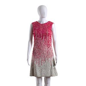 LAMAR (ROMA) DRESSMid 60sCoral pink and ...