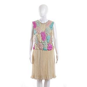 ENSEMBLEMid 60sEnsemble (top and skirt), no ...
