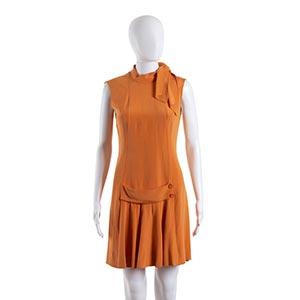 GERMANA MARUCELLI DRESSMid 60sAn orange ...