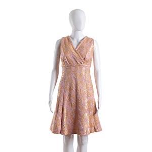 GERMANA MARUCELLI DRESSMid 60sA dress, lurex ...