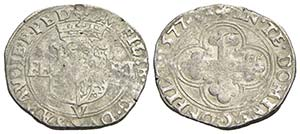 Emanuele Filiberto (1553-1580) - Bianco - ...