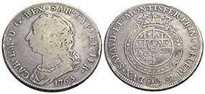 Carlo Emanuele III (1730-1773) - Scudo - ...