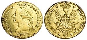 Vittorio Amedeo III (1773-1796) - Doppia - ...