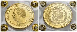 Carlo Felice (1821-1831) - 80 Lire - 1830 G  ...