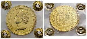 Carlo Felice (1821-1831) - 40 Lire - 1822 T  ...