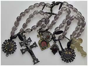 RELIGIOSE -  - - Rosario Sec. XIX-XX con ...