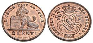 BELGIO - Leopoldo II (1865-1909) - 2 ...