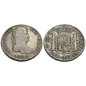 BOLIVIA - Ferdinando VII (1808-1825) - 8 ...