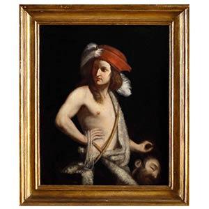 ANONIMOUS, 19th CENTURYDavid and Goliath, ...