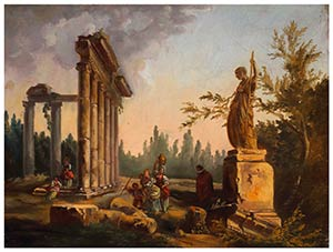 FRENCH PAINTER ACTIVE IN ROME, SECOND HALF ...