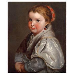 FLEMISH SCHOOL, 17th CENTURYPortrait of ...