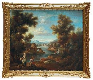 JEAN-ANTOINE VERNET (Avignon, 1716 - Naples, ...