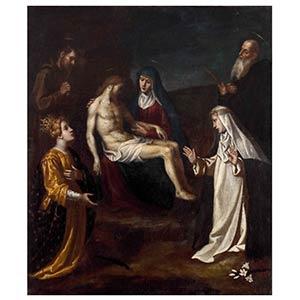 TUSCAN SCHOOL, 17th CENTURYPietà of Christ ...