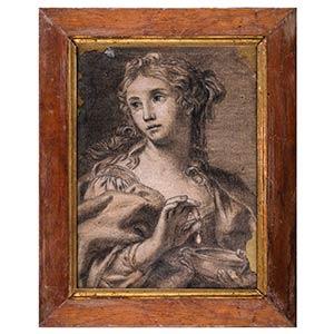 BOLOGNESE SCHOOL, 18th CENTURYCleopatra - ...