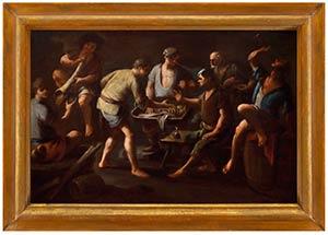 DOMENICO VIOLA (Naples, 1610 - 1696)Players ...