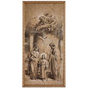 FRANCESCO GRANDI (Rome, 1831 - 1891)Trinity ...