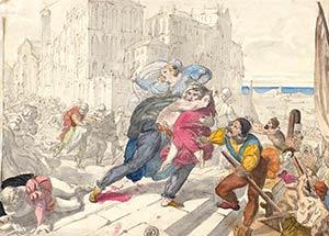 GIOVANNI ANDREA DARIF (Venice, 1801 - Milan, ...