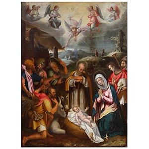 POMPEO LANDOLFO (Napoli, 1515 - ...