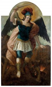 ANONIMOUS, 18th CENTURY  Saint Michael ...