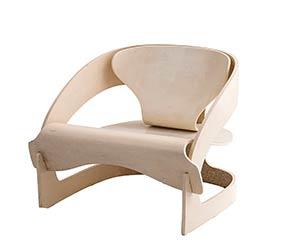 JOE COLOMBO - KARTELL  Model 4801 armchair ...