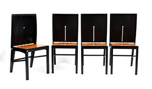 ITALIAN MANUFACTURE  Four chairs ...