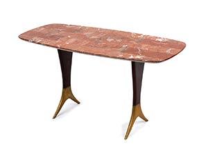 ICO PARISI (ATTR.)  Tavolino con struttura ...
