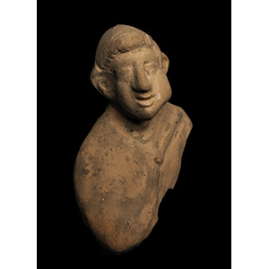 A special votive male bust  5th century BC; ...