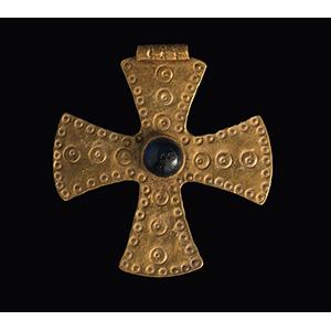 Croce bizantina in oro VI - VIII secolo ...