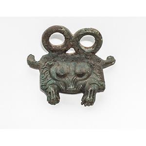 Staffa di cintura figurata in bronzo V-IV ...