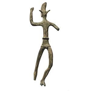 Bronzetto etrusco in forma di guerriero IV ...