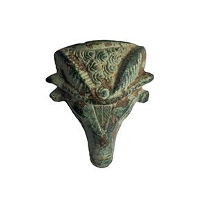 Protome in bronzo di ariete IV-III secolo ...