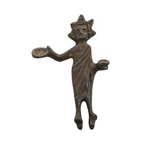 Bronze statuette of an offrant Etruria, ...