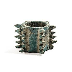 Bronze knobbed mace 3rd-1st century BC; ...