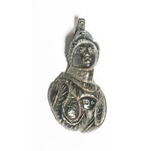 Bronze bust of Minerva applique 1st-2nd ...