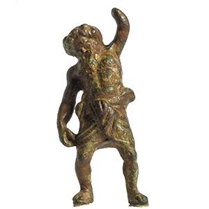 A dancing Silenus bronze statuette 2nd ...
