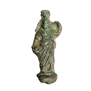 Bronze pendant in form of Serapis 2nd ...