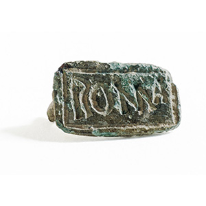 Roman bronze bread-stamp  1st -2nd century ...
